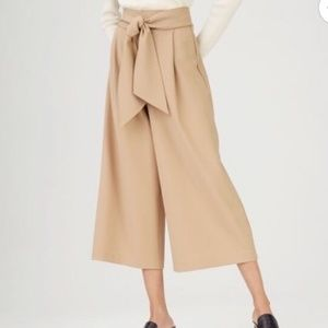 Tan Wide Legged Pants